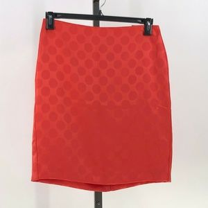 Banana Republic large dot pencil skirt size 6 NWT